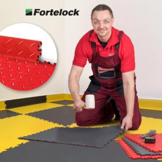 ¿Cómo instalar los rodapiés Fortelock? Es sencillo