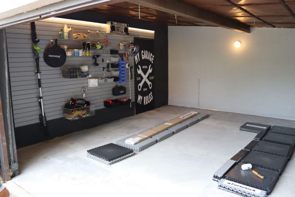 Garaje/taller, Chequia